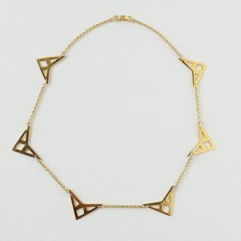 Collar Triángulos