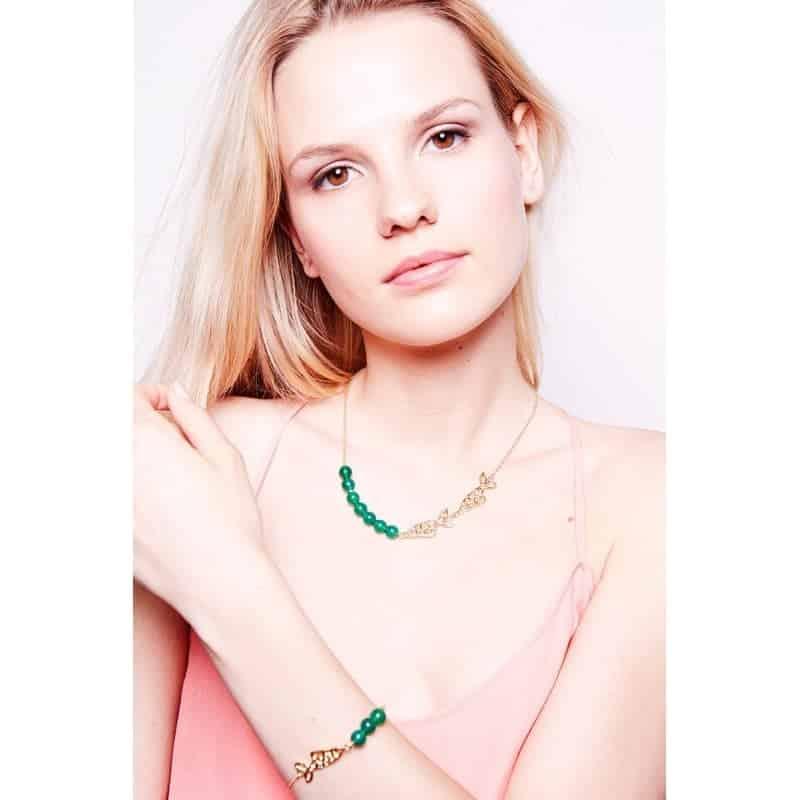 p 1 6 0 160 thickbox default Collar Peces en el Mar - Collar Sardina jade