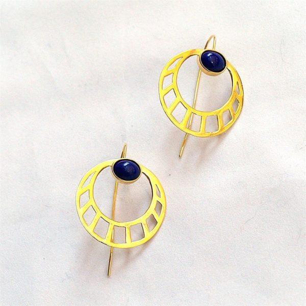p 1 7 4 174 thickbox default Pendientes Egipcios Redondos 600x600 - Egyptian Round Earrings