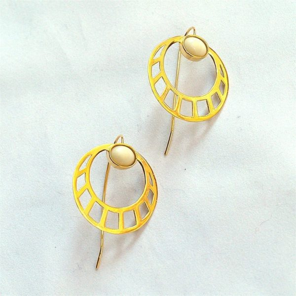 p 1 7 5 175 thickbox default Pendientes Egipcios Redondos 600x600 - Egyptian Round Earrings