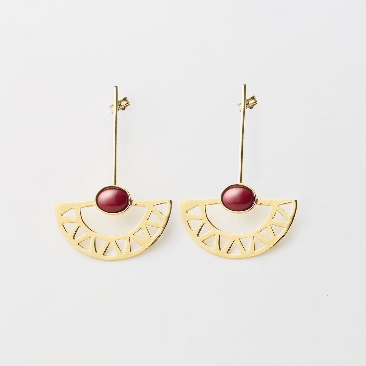 pendientes 001 lijewels - Egyptian Moon Earrings