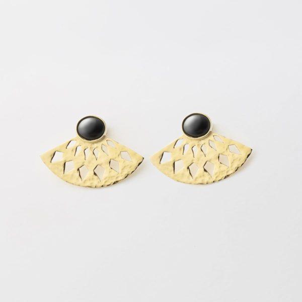 Pendientes Abanico - Pendientes Artesales - Li Jewels - Joyas de Diseño