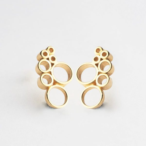 Pendientes Bubble - Pendientes Artesales - Li Jewels - Joyas de Diseño