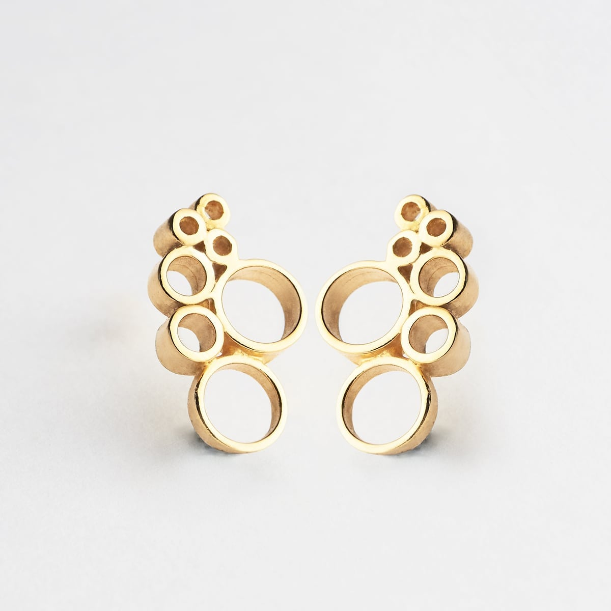 pendientes 007 lijewels - Bubble earrings