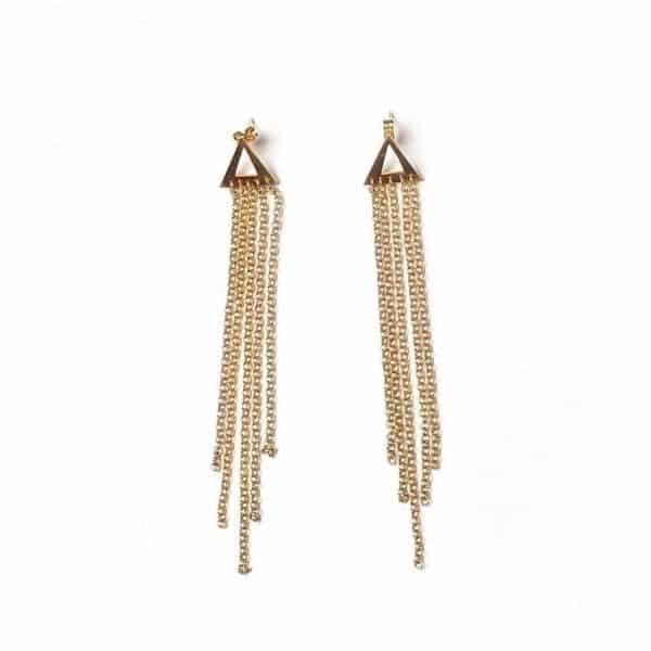 Pendientes Cascada - Li Jewels - Pendientes Artesanales