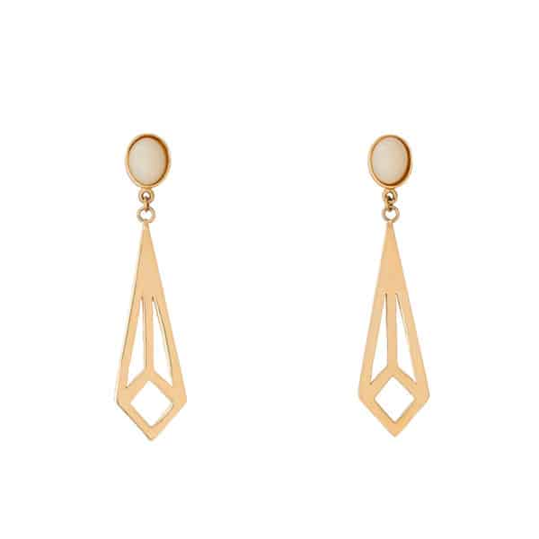 D earrings ivory 600x600 - Pendientes Is a diamond worthy?