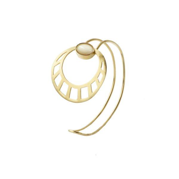 Li Jewels egipcian sun marfil esclava 600x600 - Egyptian Sun Bracelet