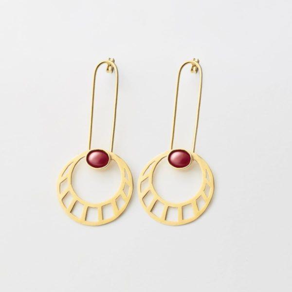 Pendientes Egyptian Sun - Pendientes Artesales - Li Jewels