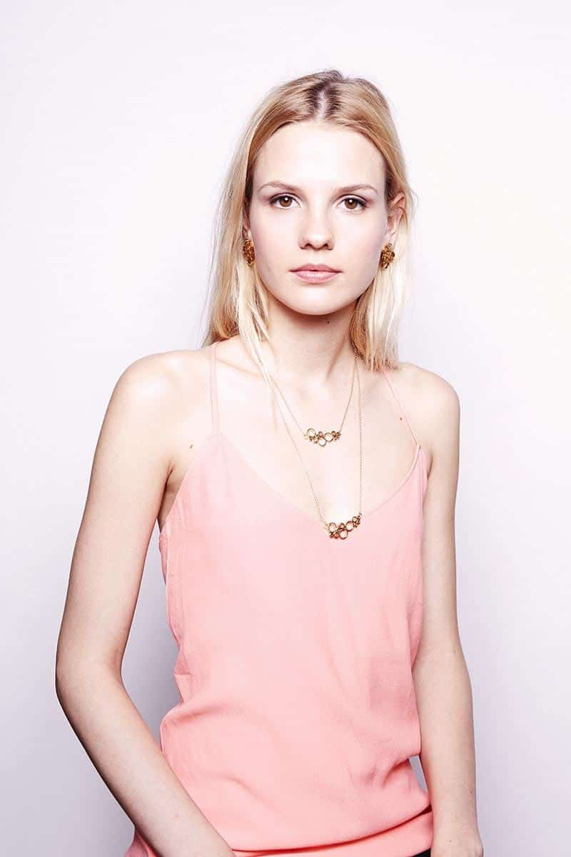 Li jewels Bubble earrings and necklace - Pendientes Bubble