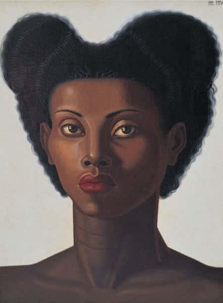 cabeza de negra 1946 de maruja mallo - Orgullo de Maruja