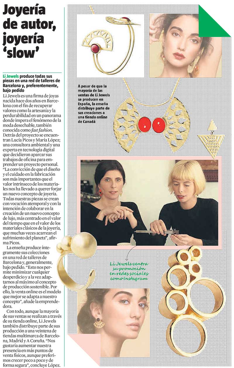 la vanguardia li jewels - Prensa