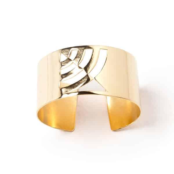 Li jewels Mirror bracelet 600x599 - Brazalete Waves simple